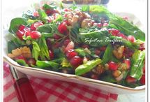 mezeler  salatalar tursular