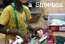 Operation shoebox / by Melissa White Reed