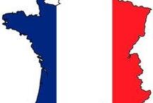 Francja flaga kontur
