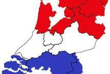 Nederland toen en nu.