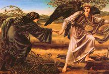 Burne-Jones / Paintings by one of my favourite artists Edward Coley Burne-Jones