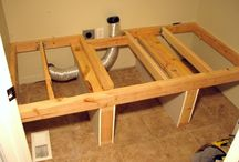Washer Dryer Platform