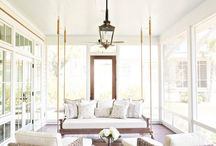 Farmhouse Porch Design / Style for a farmhouse porch.