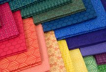 The Color Collection / Fabric collection designed by Modern Quilt Studio.