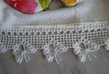 puntillas al crochet