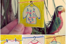 Small size paintings and drawings