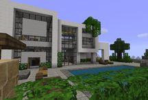 Minecraft / Des constructions Minecraft plutôt sympathique !