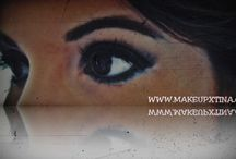 www.makeupxtina.com / BLOGGER MAKEUP STYLE