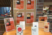 Lesen verbindet / Eine Aktion der Münchner Stadtbibliothek anlässlich der Internationalen Wochen gegen den Rassismus