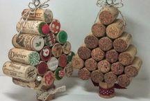 Karácsonyi asztal dekoráció