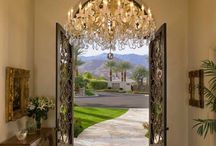 Foyers, Entry Ways, and Great Views / Beautiful Ideas