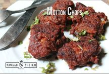 Mutton Starters / Click on this board to know about the available items from our Nawaab Sheikh Palace Restaurant Perungudi.