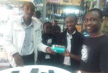 Proud Wiko Owners / Our first buyers from #Kenya. #Wiko