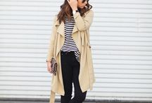 Trenched Up!!!!! / Draped trench coats for fall