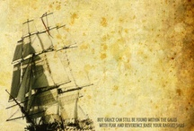 come sail away / I have a thing for ships  / by Eden Riley