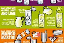 Low Calorie Alcoholic Drinks / by Jen Helle