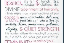 Quotes & Scriptures / Inspiring words