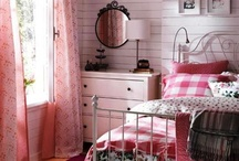 Red and Country Red Decor / by Junkin Addict