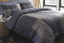 denim patch blankets