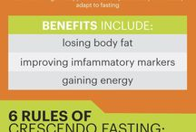 New eating habits / Fasting info & healthy eating