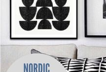 printable Scandinavian wall art / Beautiful Scandinavian wall decor and home decor inspiration. For the love of all things Nordic!