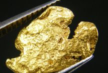 Gold Nuggets / Gold Nuggets as they come right from the earth.  Nuggets happen when the rock breaks away from the veins of gold and chunks of gold tumble down through rocks and water forming unique shapes. / by TreasureForce ExpeditionHistory