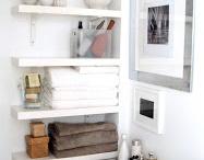 Kylpyhuone / Kylppärin sisustus ja organisointi