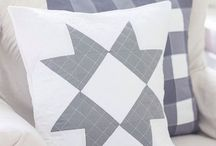 Farmhouse Shop-Little Bits of Everything inc. / handmade farmhouse inspired decor for your home! quilted pillows, and quilts, and painted wood signs.
