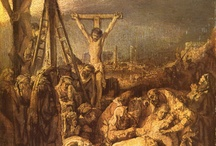 Rembrandt / Storia dell'Arte Pittura Disegno Incisioni  17° sec. Rembrandt Harmenszoon van Rijn  1606-1669
