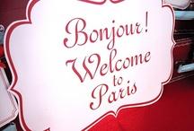 Fanni's Paris theme party