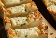 Mozzarella knoflook brood
