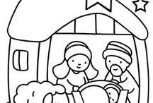 karácsonyi színezők