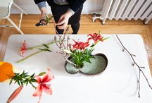 Ikebana / The ancient practice of ikebana celebrates the imperfect forms of plants and flowers, and the space that surrounds them. Read the full story here: http://eastcoastliving.ca/2016/03/some-kind-of-arrangement