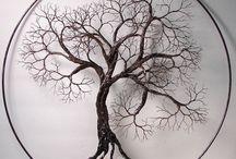 árboles mandalas