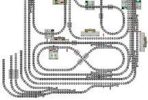 Lego vlaky