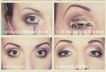 Makeup and hair tricks / by Sue Wikstrom