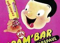 Confiserie, bonbons, chewin gum (pub)