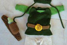 Baby link costume