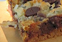 Recipes: Cookies, Brownies and Bars