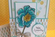 Stampin' Up Bloom with hope