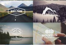 Nature / hiking logos