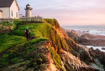 Pacific Coast trip planning / by Sally Broten