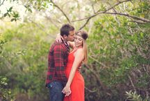 Rustic Engagement / Rustic Engagement session, Field natural light, Boots and red dress, Bohemian Engagement, Red and brown outfits, Central Florida Wedding photographer, Jason Webster Photography, Webster Weddings, Sebastian inlet, Flower field engagement, Melbourne Wedding photographer,