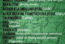 Irish Slang