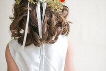 Coroa de flores - Headband