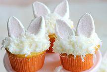Cupcakes de coelhoa ameiiii