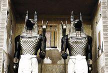 æs. anubis / egyptian • jackal • mummification and afterlife