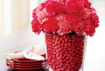 Valentine Centerpieces / by Rebecca Lesue