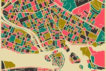real city maps