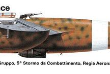 AEREI ITALIANI NELLA SECONDA GUERRA MONDIALE (ITALIAN AIRCRAFT OF WORLD WAR II) / Profili di aerei italiani nella seconda guerra mondiale (Profiles and pictures of Italian aircraft of World War II)